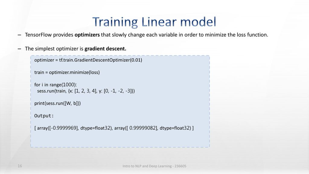 Intro to NLP and Deep Learning - ppt download
