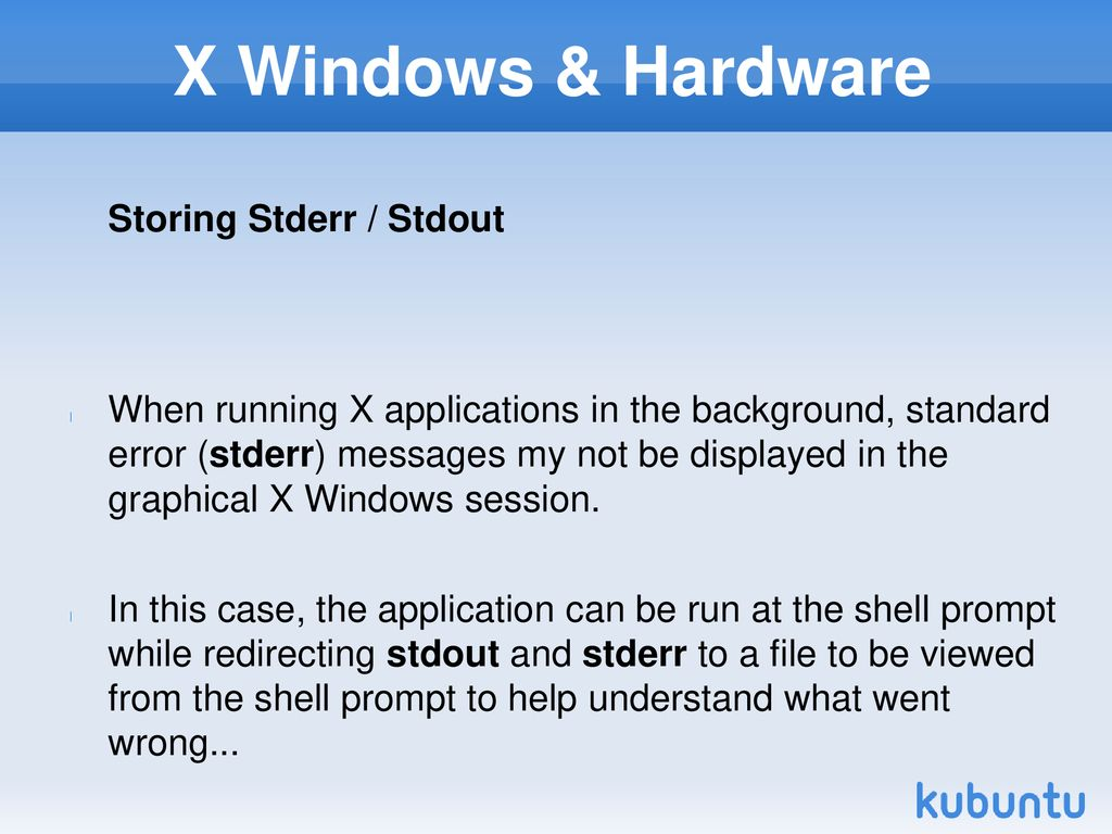 XWN740 X-Windows Configuring and Using Running X Clients