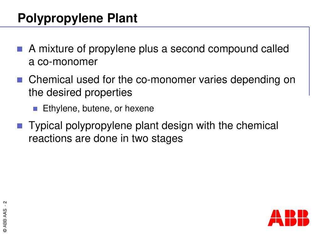 Polypropylene PGC Applications - ppt download