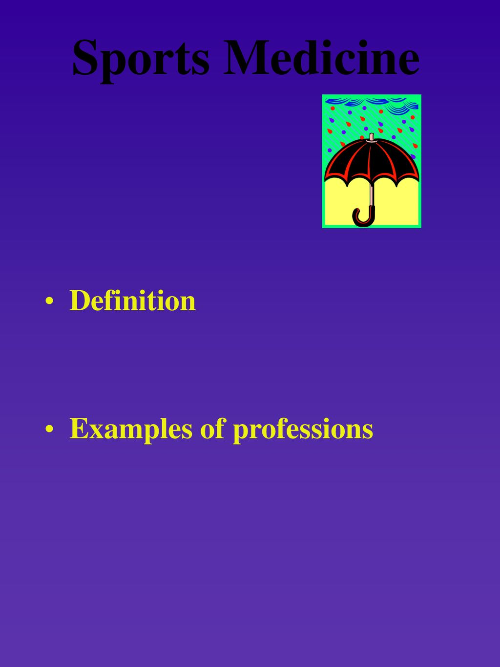 the athletic trainer and the sports medicine team chapter 1 - ppt