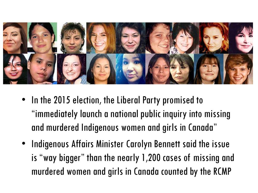 Native Crime Statistics & Missing and Murdered Indigenous