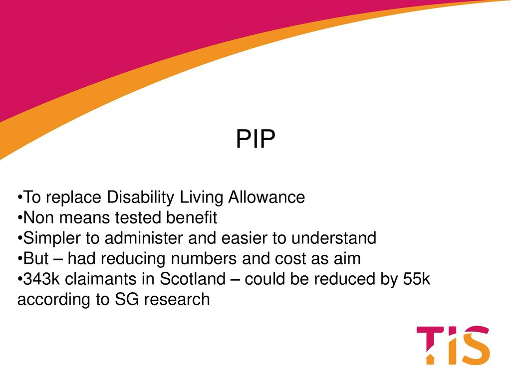 is pip means tested