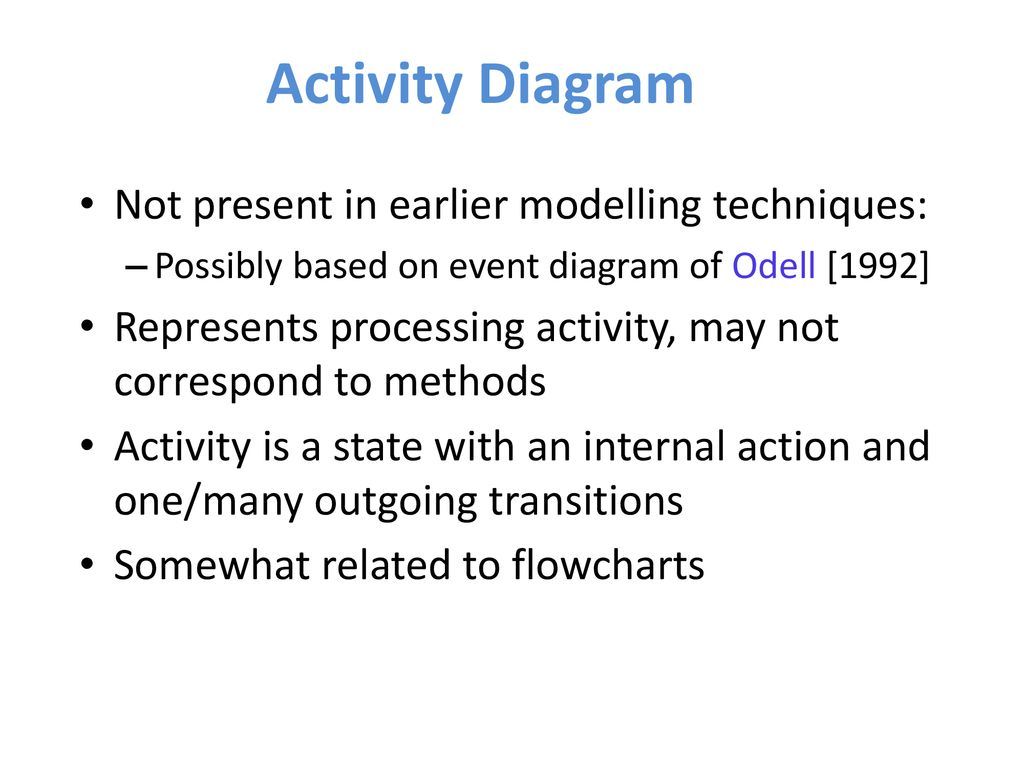 Uml Diagrams Practical Tutorial Ppt Download How The States Are Interrelated Is Shown In Statechart Diagram 38 Activity