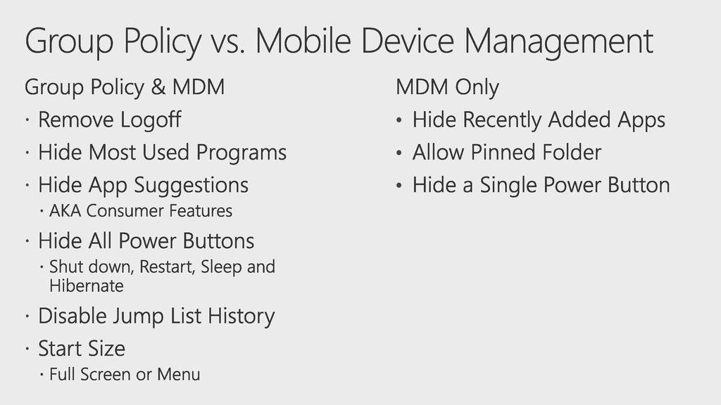 Customizing the Start Menu in Windows ppt download