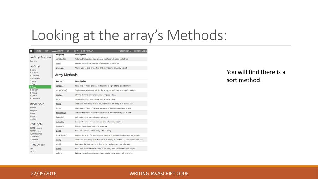 Writing JavaScript Code - ppt download