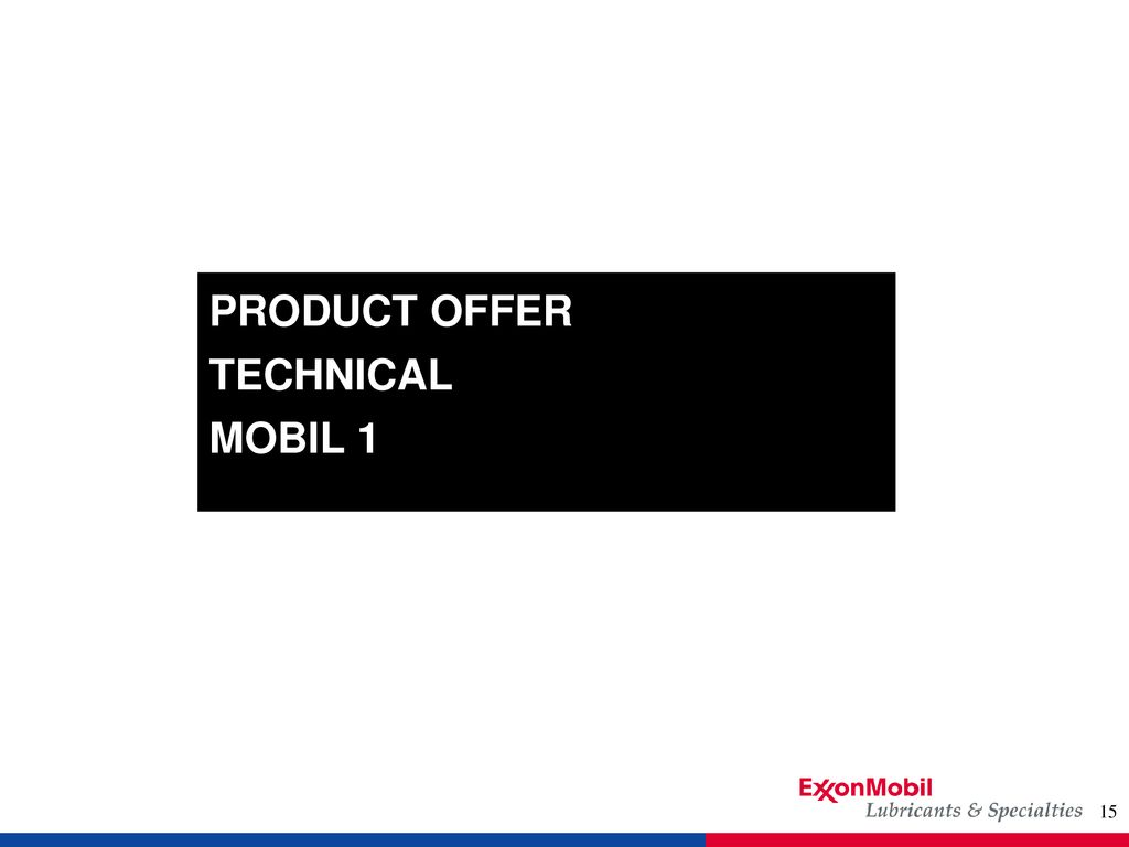 PRODUCT OFFER TECHNICAL THE SYNTHETIC ADVANTAGE - ppt download