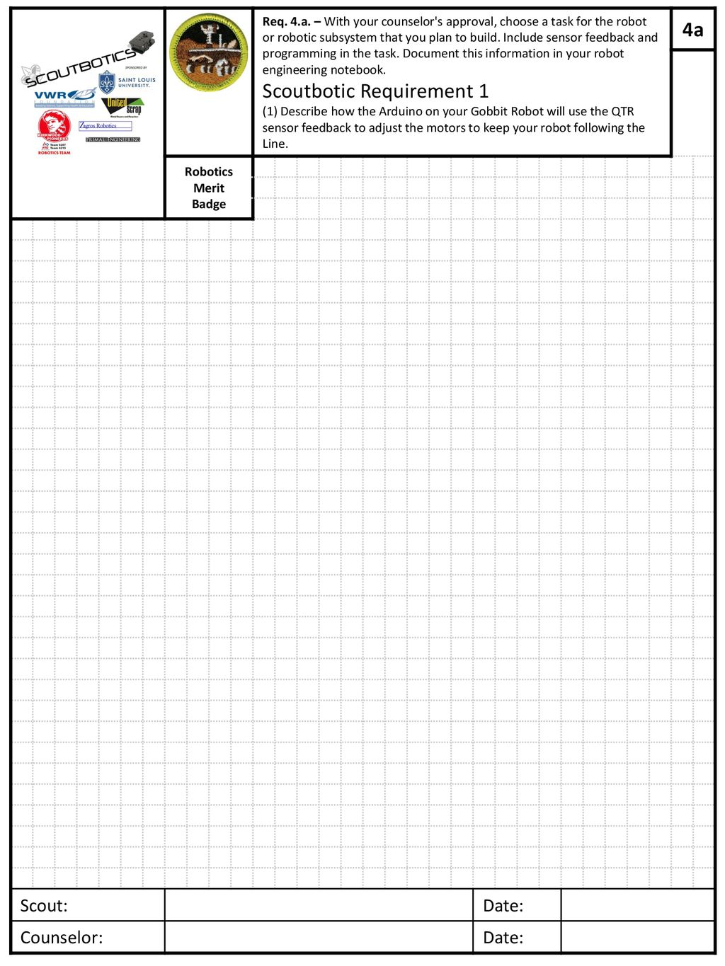 Scoutbotics Engineering Notebook Ppt Download