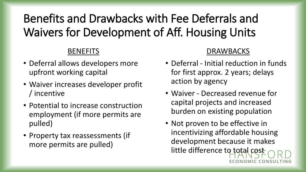 Understanding Development Fees + A Regional Perspective