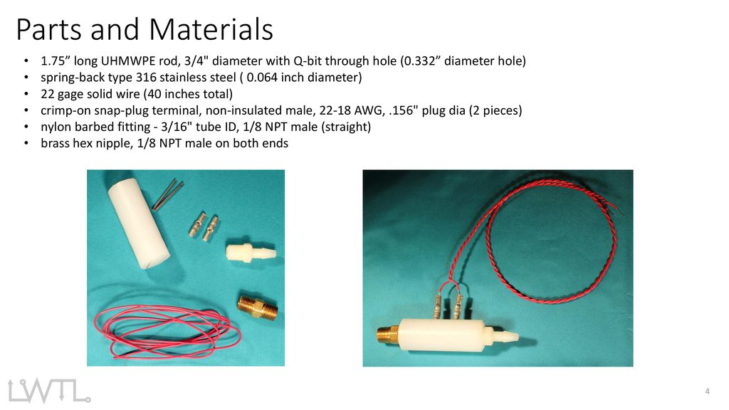 Conductivity Sensor Fabrication - ppt download