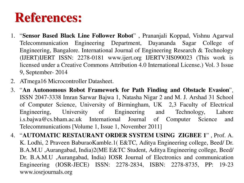 Automatic Hotel Server Robot Ahsr Ppt Download Line Follower Schematic 12 References Sensor Based Black