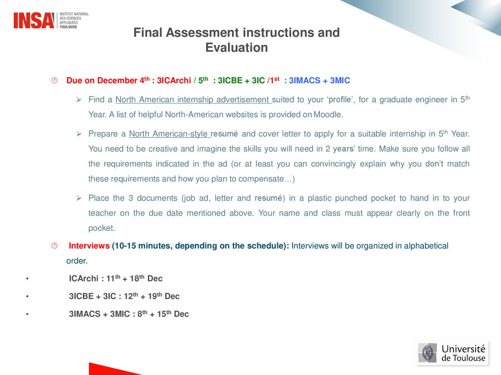 3rd Year English Course Presentation Sem1 Ppt Download