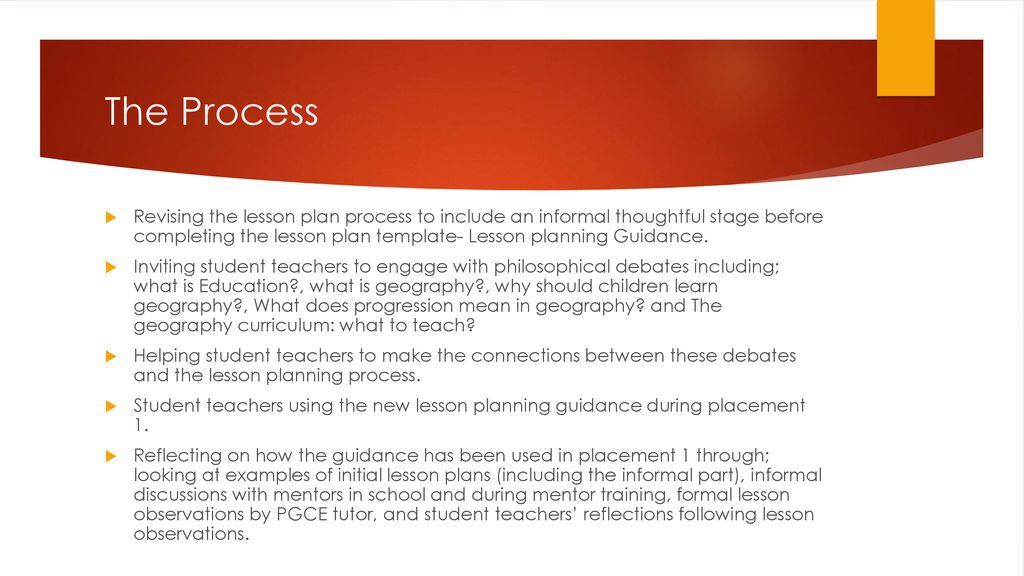 Thoughtful Lesson Planning Ppt Download