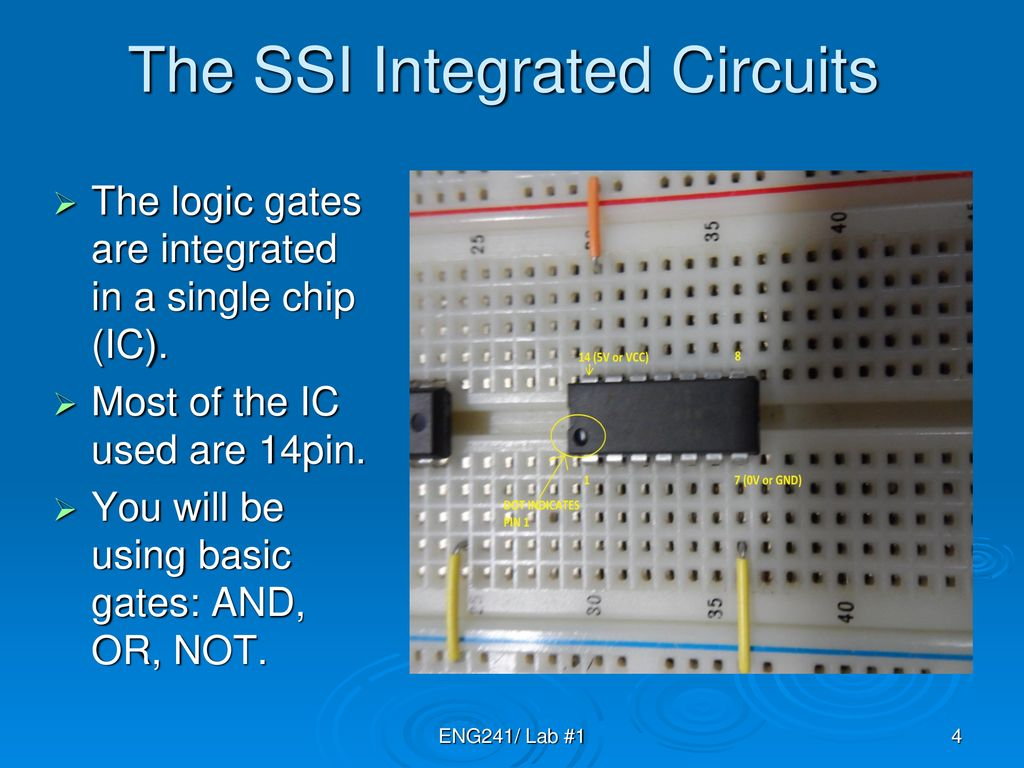 Lab 1 Introduction Combinational Logic Design Ppt Download Where Integrated Circuits Are Used The Ssi