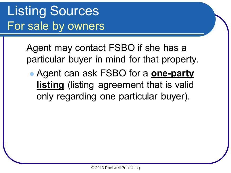 Washington Real Estate Practices Ppt Download