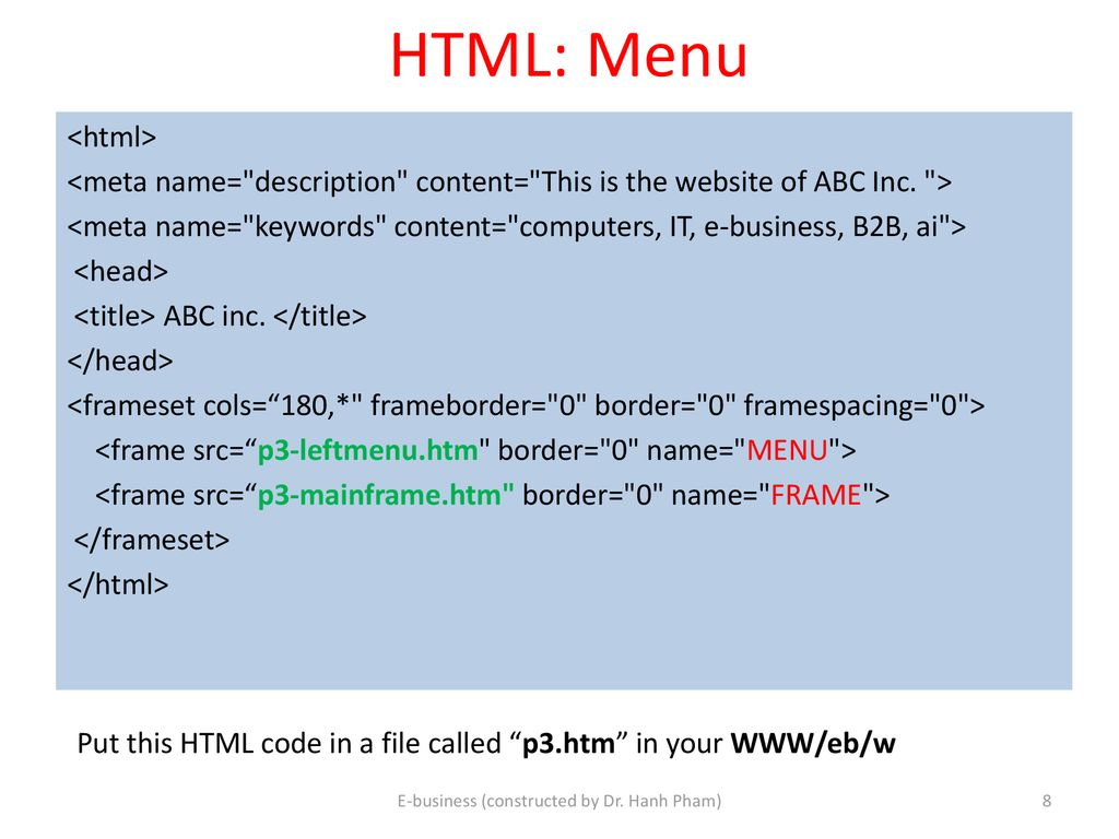 Client Side programming: HTML, XHTML & CSS - ppt download