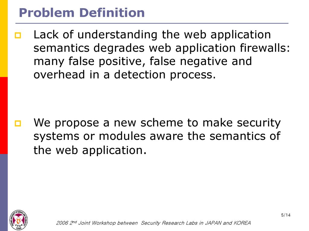 marking scheme for semantic-aware web application security - ppt