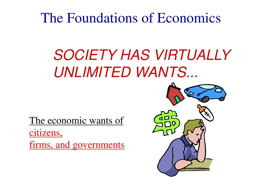 the economizing problem faced by a society is