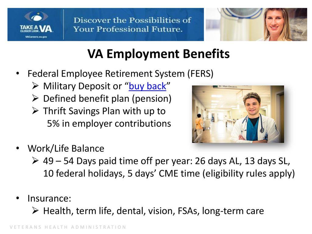 Veterans Health Administration (VHA) Career Opportunities