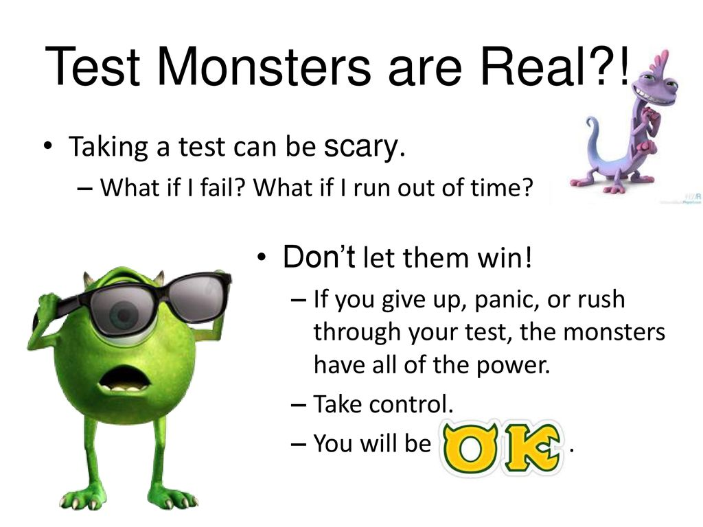 taming the test monsters ppt download rh slideplayer com