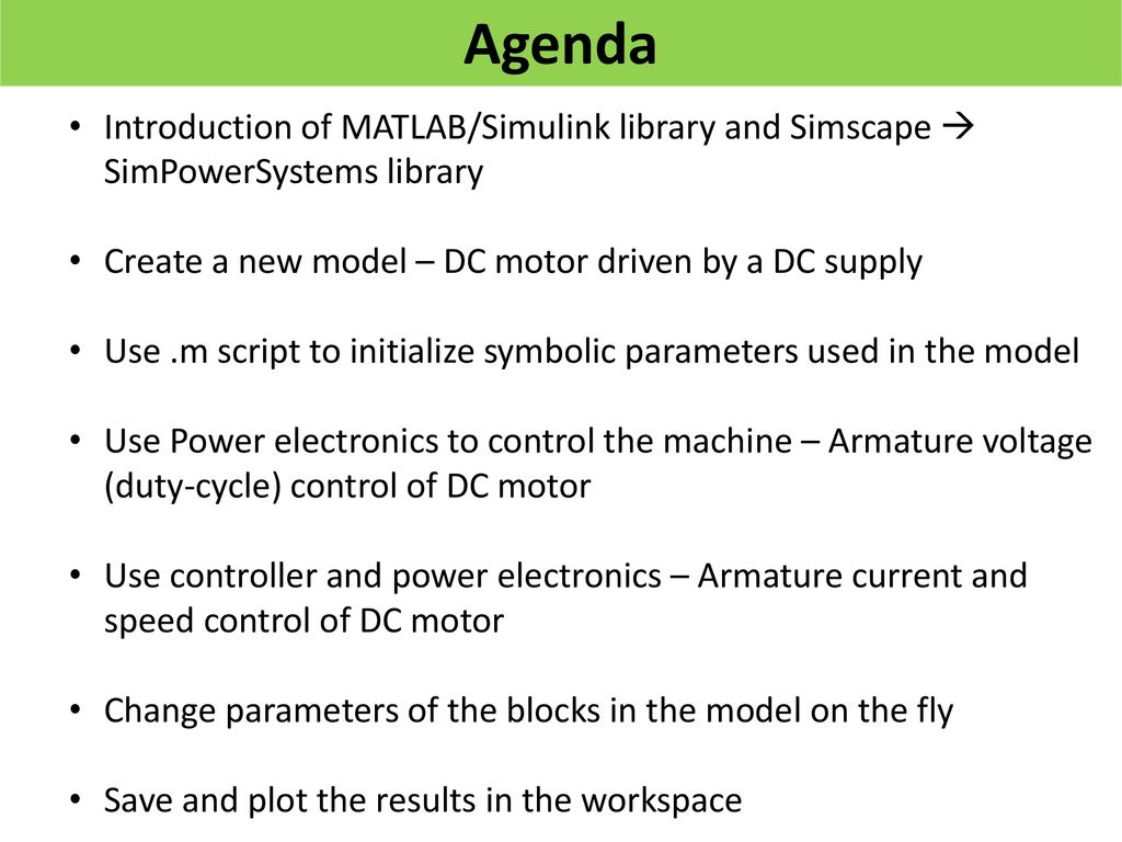 Simulation of Electric Drive Systems Using MATLAB/Simulink