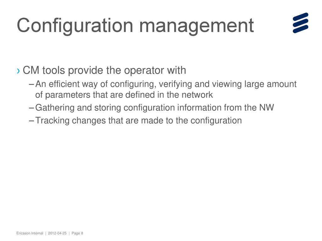Ericsson Network Manager Ppt