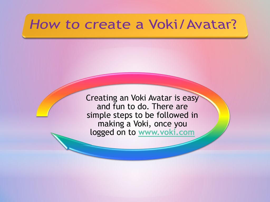 All about Technology: Using Voki Avatar in the classroom