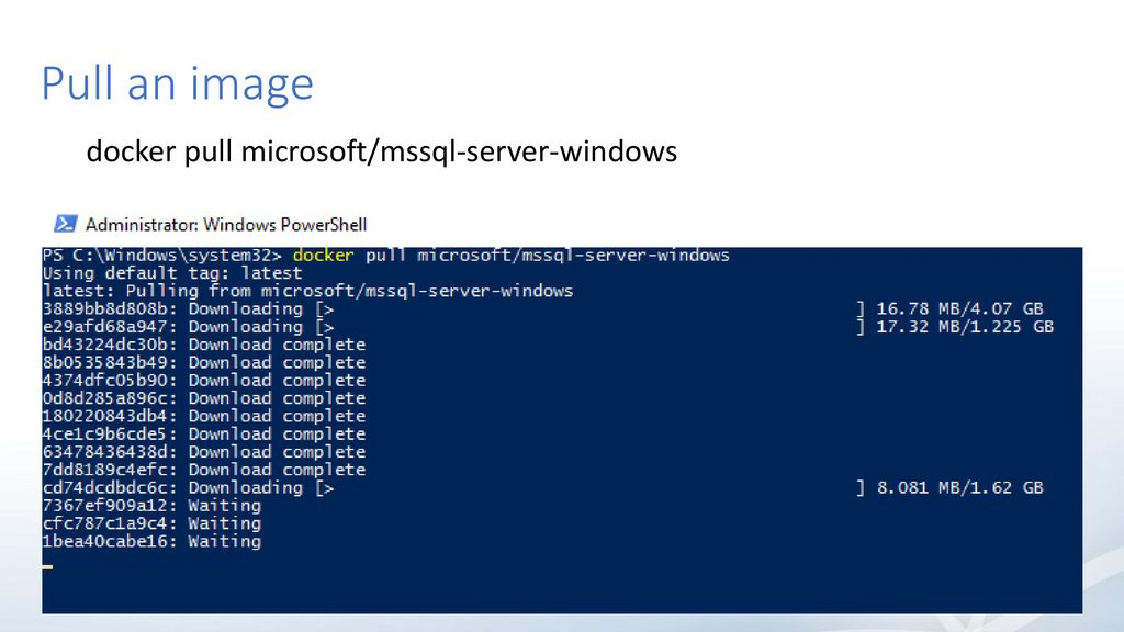 Andrew Pruski SQL Server & Containers - ppt download