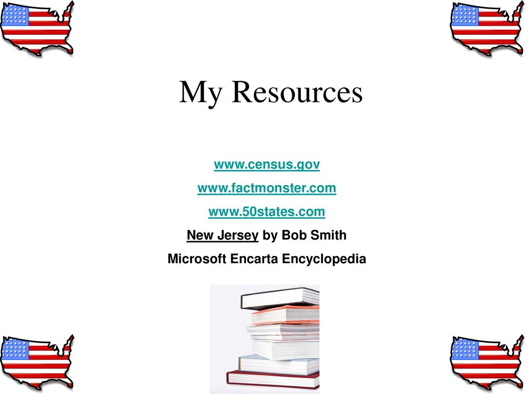 New Jersey 2nd Grade State Research Project - ppt download