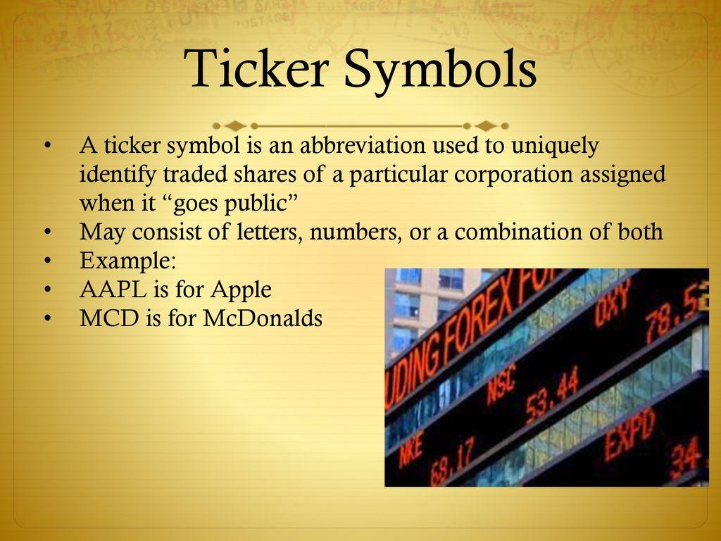 Understanding The Stock Market Ppt Download