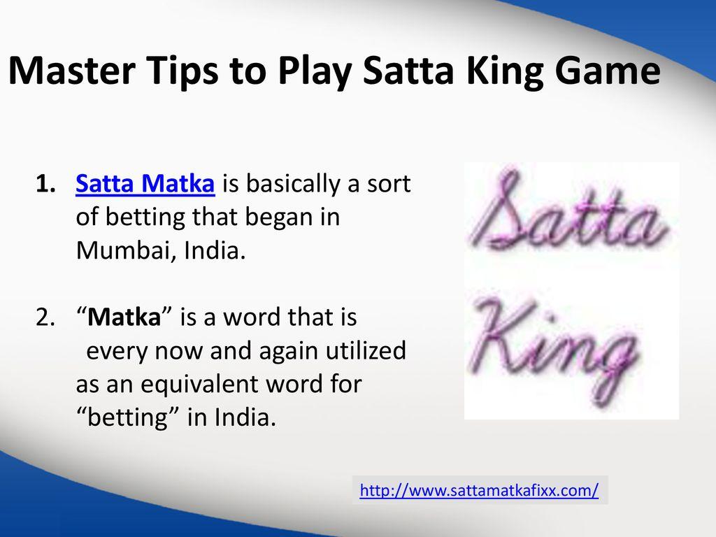 Matka india play