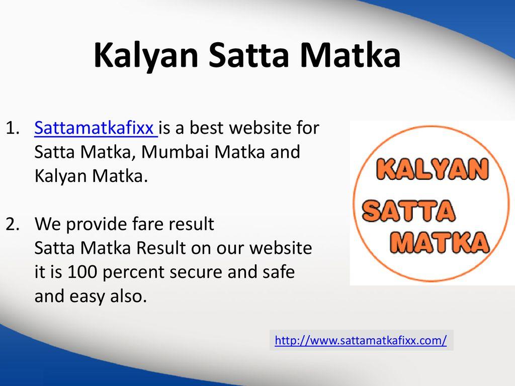 Kalyan Express Matka