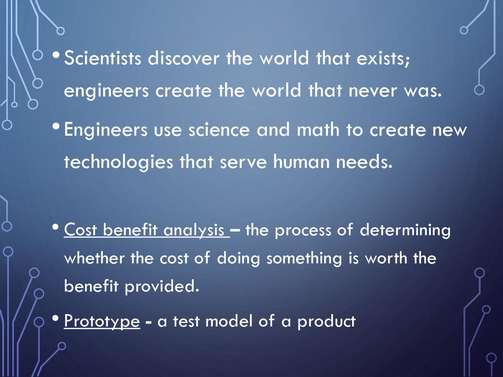 Technology and Engineering - ppt download