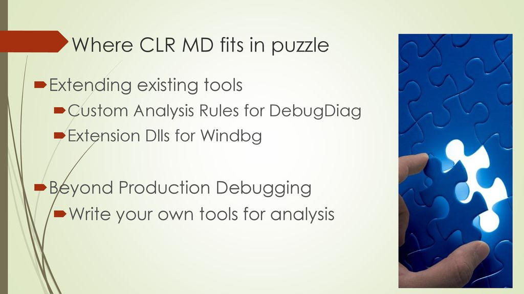CLR MD A New Swiss Army Knife tool for Advanced Debugging