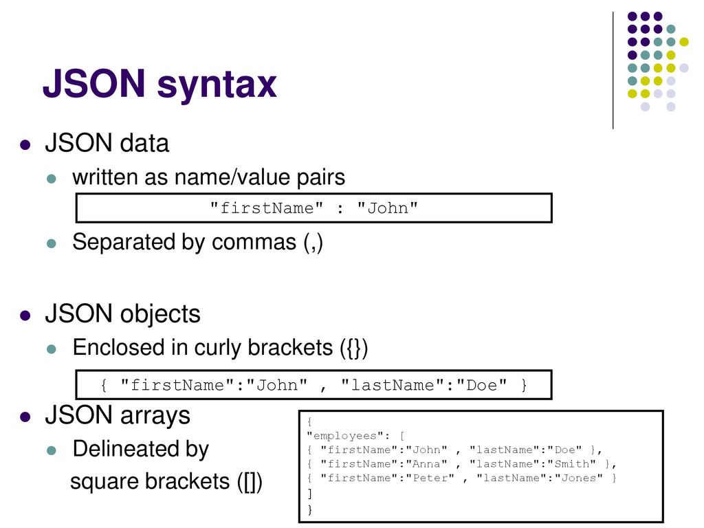 Consuming Java Script Object Notation (JSON) feeds - ppt