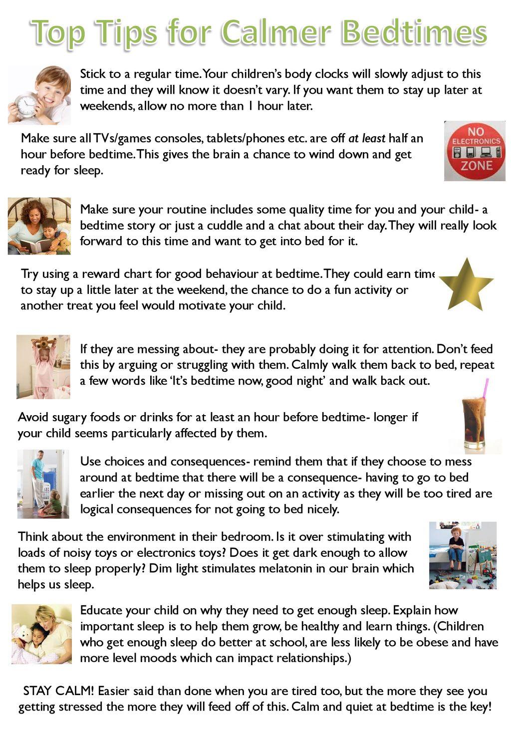 Top Tips for Calmer Bedtimes  - ppt download