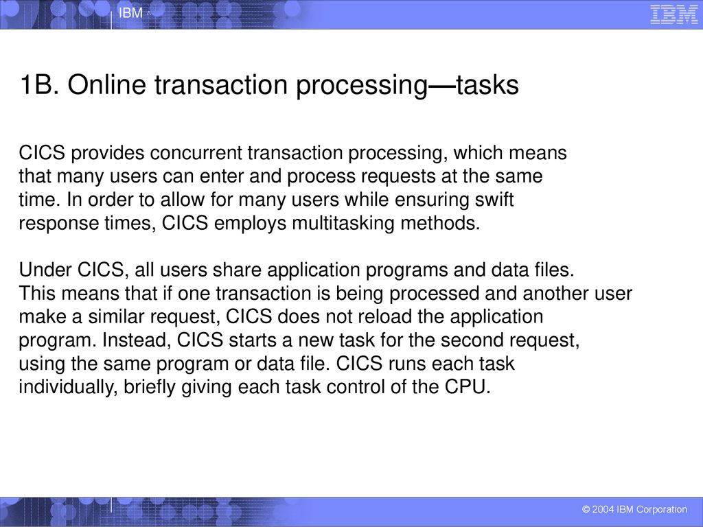Introduction to CICS Transaction Server - ppt download
