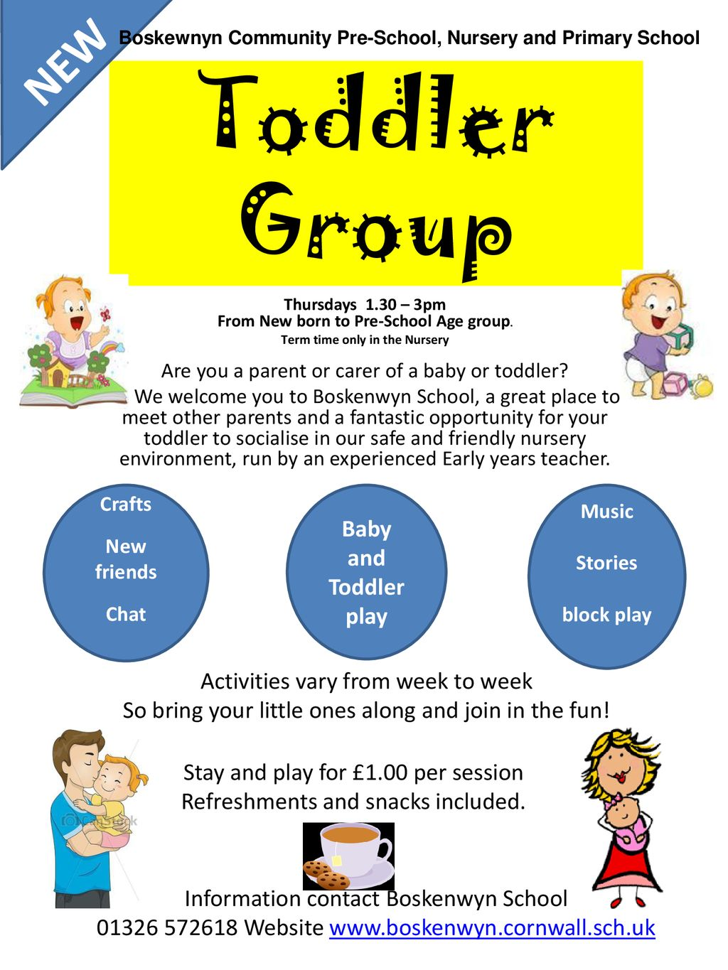 Toddler Group New Baby And Play