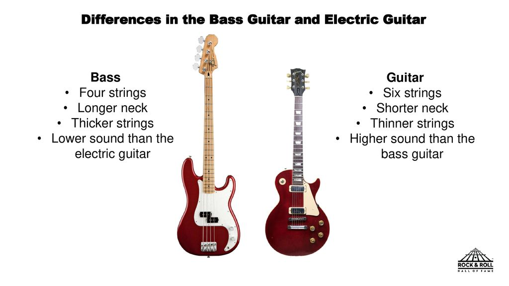 Bass Guitar and Electric Guitar - ppt download