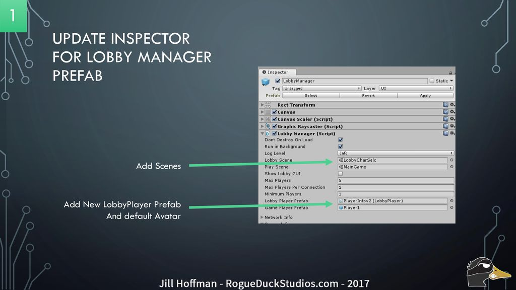 Character Selection from a lobby in Unity - ppt download