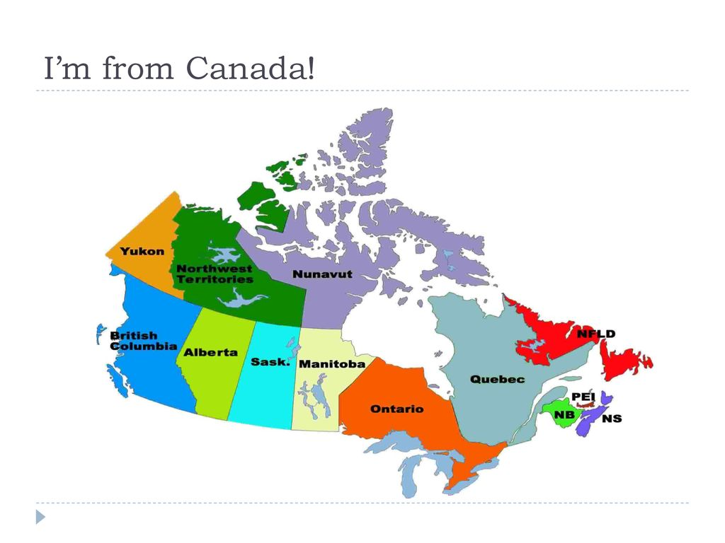 Map Of Canada 5 Great Lakes.Self Introduction Natalie Toombs Ppt Download