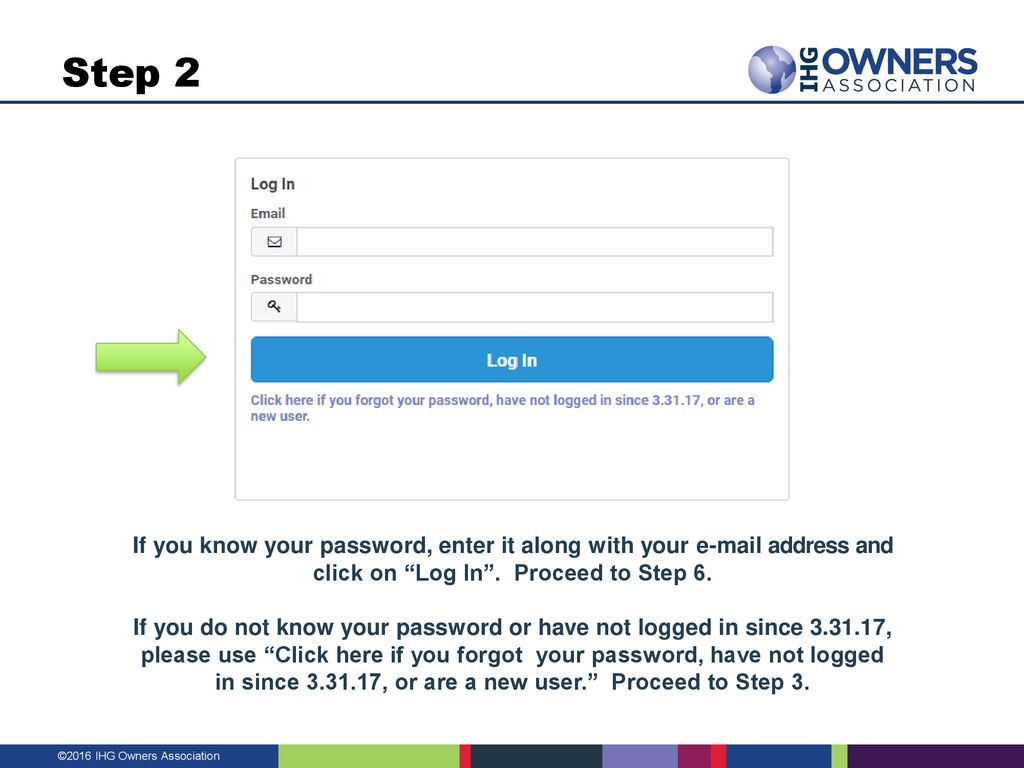 Visit – click the red MEMBER LOGIN as shown above  - ppt