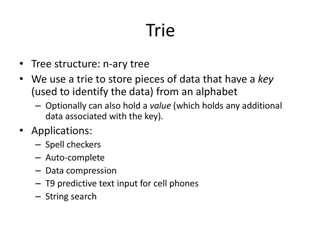 T9 and Tries CSE 374 Homework 5, Spring ppt download