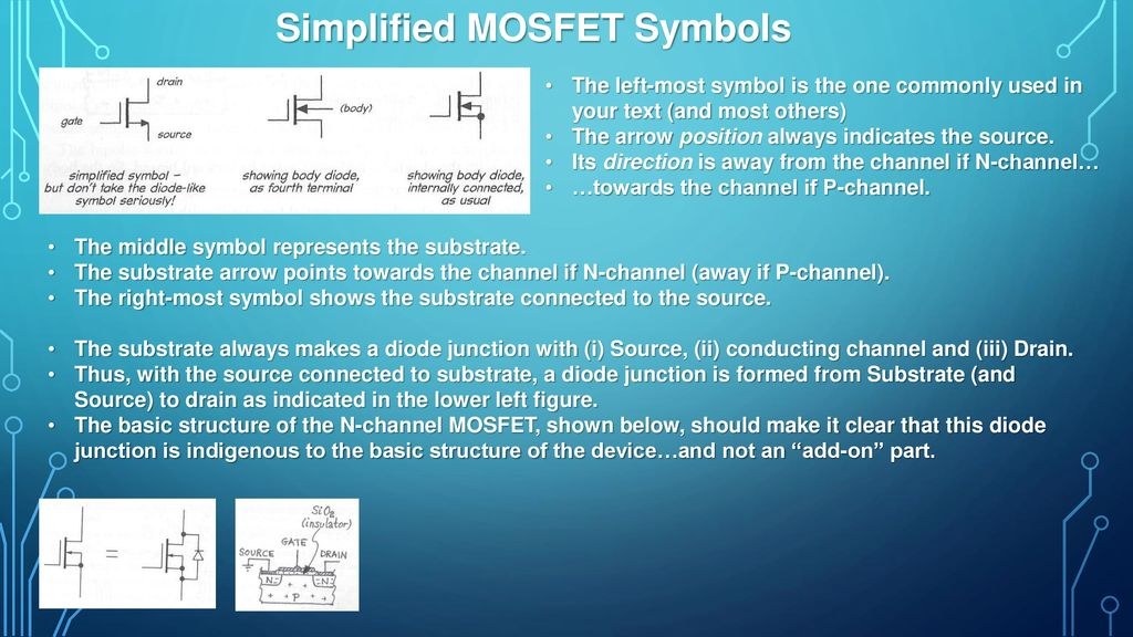 Lec 12 Mosfets Mosfets Jfets Ppt Download