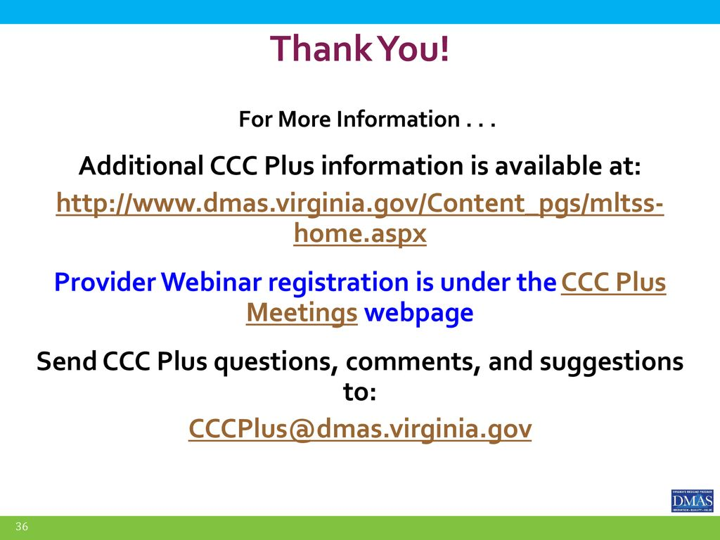 Commonwealth Coordinated Care Plus - ppt download