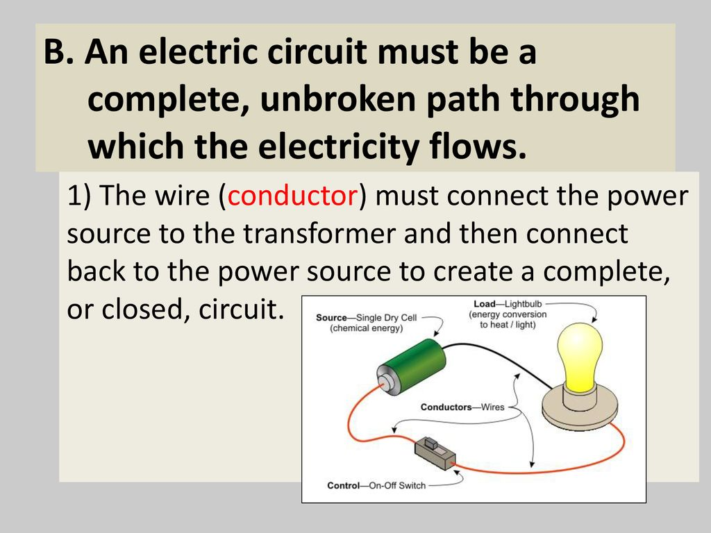 Electricity 6p3a3 Construct Explanations For How Energy Is Because All Switches In This Closedcircuit System Are A Wiring 8 B