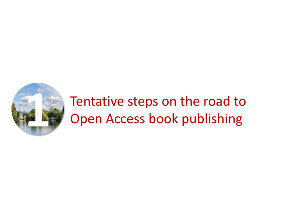 IWA Publishing – Developing an Open Access books portfolio - ppt