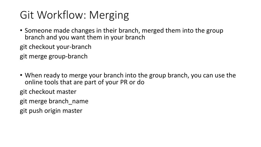 git merge use theirs