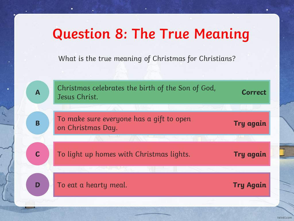 Question 1 Christmas Tree Ppt Download Lights On A T 9