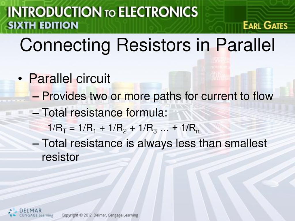 Chapter 4 Resistance Ppt Download Resistor That Allows You To Control And Vary The It Connecting Resistors In Parallel