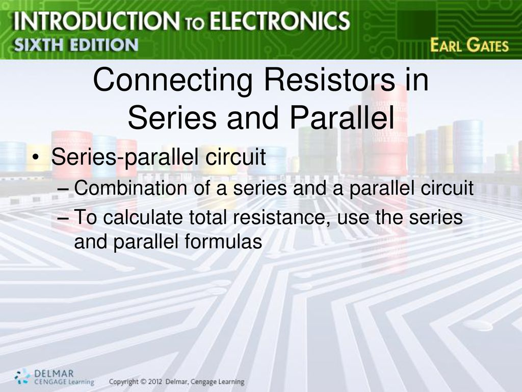 Chapter 4 Resistance Ppt Download Formula For Series And Parallel Circuits Connecting Resistors In